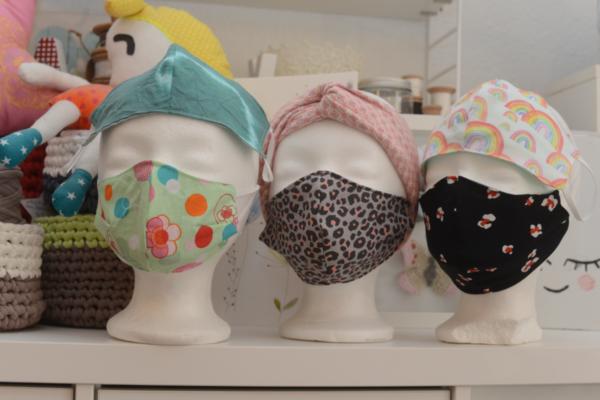 Schutzmasken für den guten Zweck